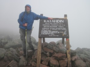 The starting point, Katahdin, Maine June 4th 2012