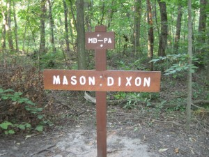Mason Dixon line and Maryland/Pensylvainia