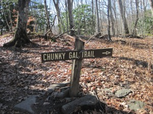 Surely a man named this trail...